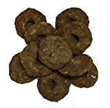 VRINDAVANBAZAAR.COM Gobar upla / 100% Cow Dung Cake, Completely Dry for hawan/puja/Rituals (100)