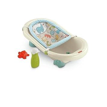 Buy Fisher-Price Animal Krackers Rinsin Fun Baby Bath Tub Online ...