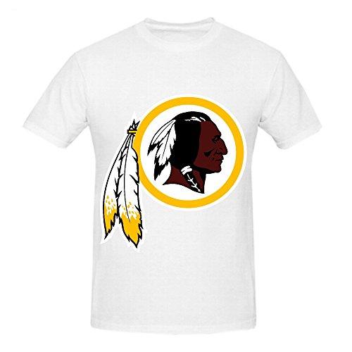NFL Washington Team Logo Crew Neck T Shirts For Boys White