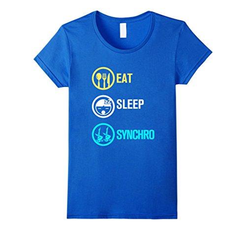womens-eat-sleep-synchro-synchronized-swimming-t-shirt-small-royal-blue