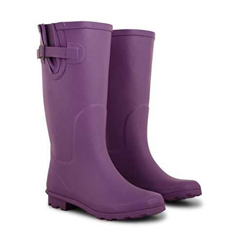 Footwear Sensation - Botas para mujer morado
