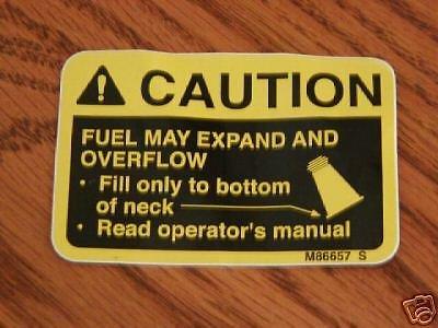 (USA Warehouse) 318 John Deere Fuel Tank Decal ,420.316 16 -/PT# HF983-1754378321