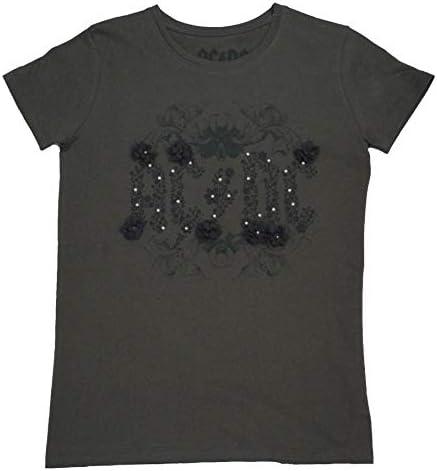 ACDC T Shirt Manica Corta da Ragazzo Fashion Rock