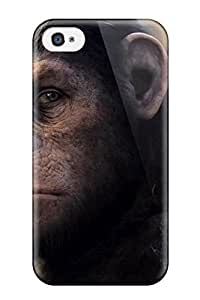 Sanp On Case Cover Protector For Iphone 4/4s (dawn Of The Planet Of The Apes )