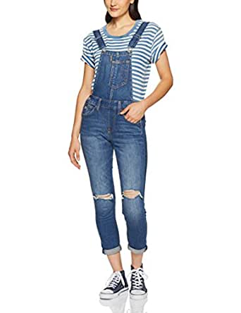 Levi's Women's Fitted Overall, Blue Syndrome Overall, XS