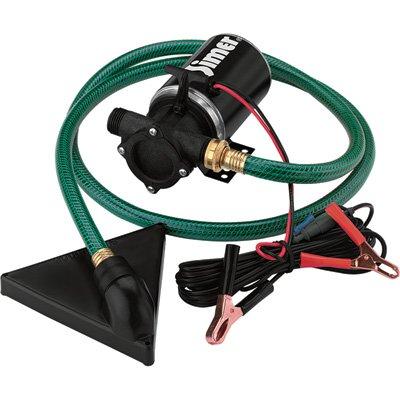 Simer Pump Co. Utility Pump - 3/4in. Ports, 450 GPH, 12 Volt Motor, Model# BW85P