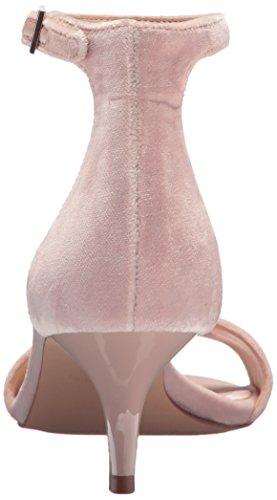 Nine West Women's Leisa Fabric Sandal, Light Grey, Medium Light Natural