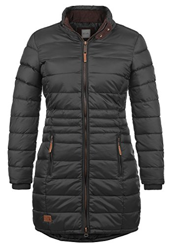 Collo Grey Cappotto Blendshe Carlotta Con Outdoor Trapuntato 70010 Jacket Parka Donna Da A Imbuto Phantom OOZzqw