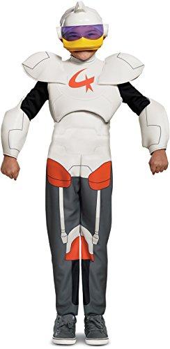 Disguise Gizmo Duck Deluxe Child Costume, White, Size/(4-6) ()