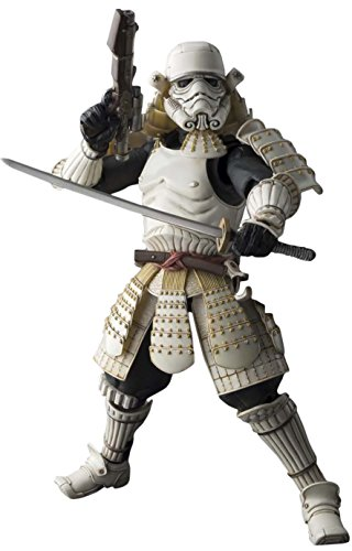 "Bandai Tamashii Nations Movie Realization Ashigaru Storm Trooper ""Star Wars"" Action Figure"