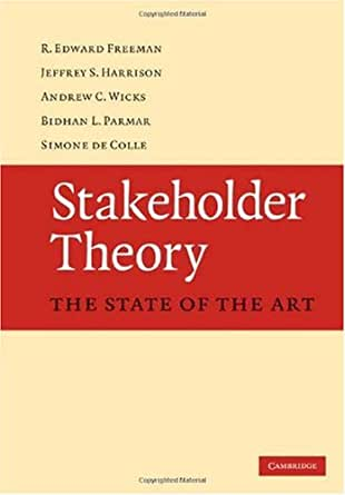 stakeholder theory application Csr and stakeholder theory: a tale of adam smith  and preston 1995), and stakeholder applications like the principle of fairness (phillips 1997) this article offers a.