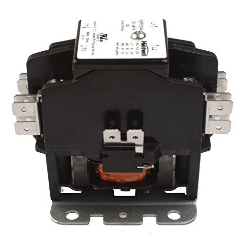 (Holdwell 45EG20AJ 2 Pole 20 Amp 25 Amp 30 Amp 24V Coil Definite Purpose Contactor)