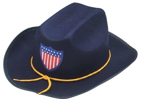 Jacobson Hat Company Child's Felt Union Officier Hat Costume Civil War Officer Hat