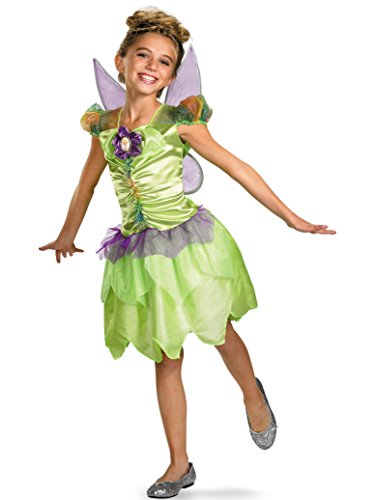 Tinker Bell Rainbow Classic Costume - Medium (7-8) ()