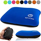 Rest-A-Camp Inflatable Camping Travel Pillow Ultralight - Best Compact Backpacking Pillow - Portable Air Pillow Backpack Camp Exped Travelling Hiking Sleeping - Lightweight Inflating Blow Up Pillow