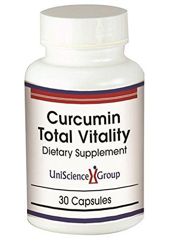 Mg 300 10 Capsules (Curcumin Total Vitality, 30 Capsules, 95% Curcuminoids 500mg, Ashwagandha 300 mg, Rhodiola 185mg, Black Pepper Extract 10mg 95% Piperine)