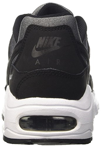 Nike Jungen Air Max Command Flex (Gs) Laufschuhe Schwarz / Schwarz-Weiß