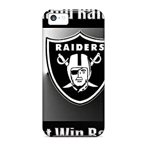 Snap-on Oakland Raiders Cases Covers Skin Compatible With Iphone 5c