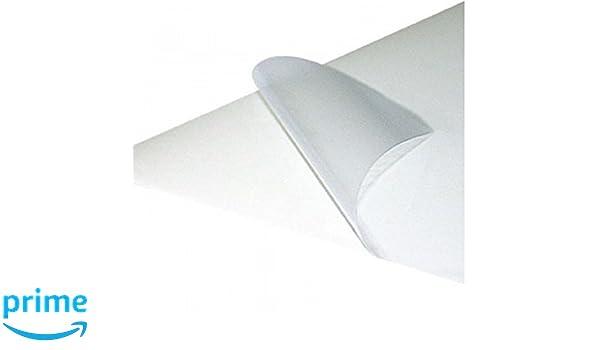 Papel adhesivo transparente para impresoras Inkjet 8, folios ...
