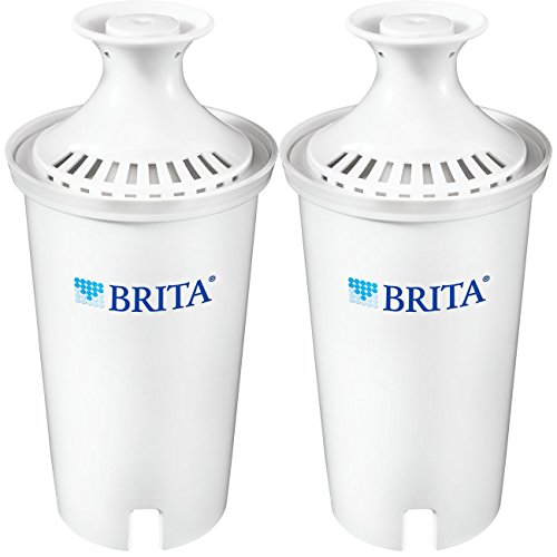 Brita Standard  Replacement Filters for Pitchers and Dispensers - BPA Free - 2 Count