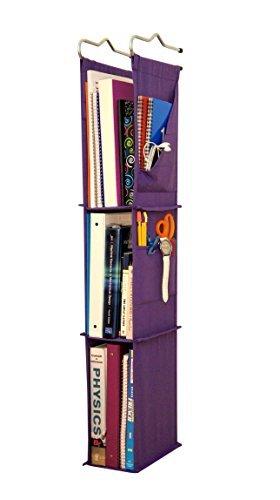 Locker Ladder Locker Organizer Hanging Shelves, Sewn and Assembled in USA (Hanging Locker Organizer)