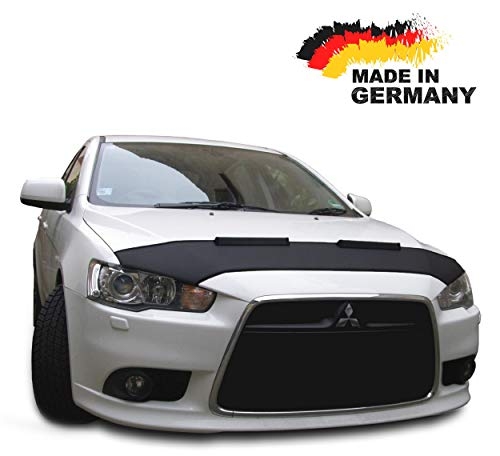 Hood Bra for Mitsubishi Lancer 8 CY0 Bonnet Car Bra Front End Cover Nose Mask Stoneguard Protector TUNING