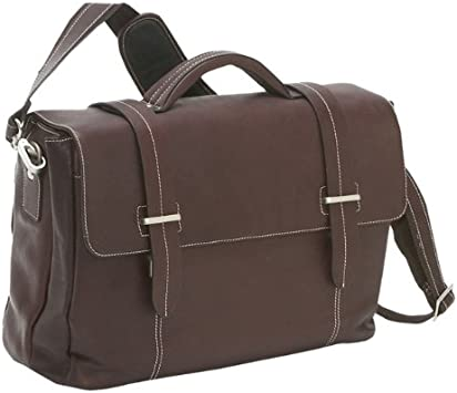 Leather Briefcase Color Brown