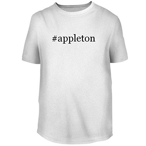 BH Cool Designs #Appleton - Men's Graphic Tee, White, Large