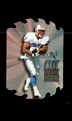 Cut Above #4 Eddie George Houston Oilers NM 372 (1997 Skybox)