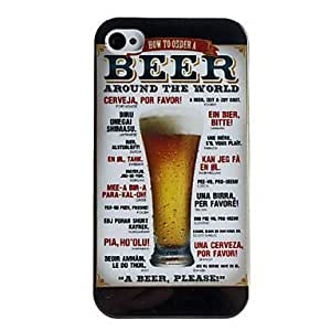 iphone covers Beer Style Protective Back Case for Iphone 6 4.7