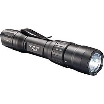 Pelican 7600 Rechargeable Tactical Flashlight (Black)