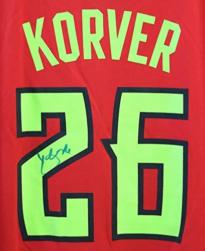 Kyle Korver Atlanta Hawks Signed Autographed Red #26 Jersey