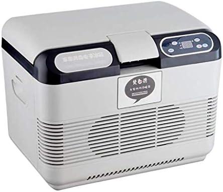 ZWH-ZWH 15Lポータブルカー冷蔵庫、スモールミニ暖房ボックスやトラック用冷却冷凍庫-12V / 24V DC / 220V AC、旅行、医学 車載用冷蔵庫