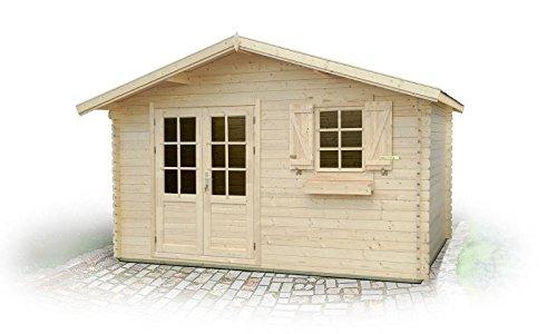 Jardín Casa po12 - 34 mm listones hogar, superficie: 13,90 M², tejado: Amazon.es: Bricolaje y herramientas