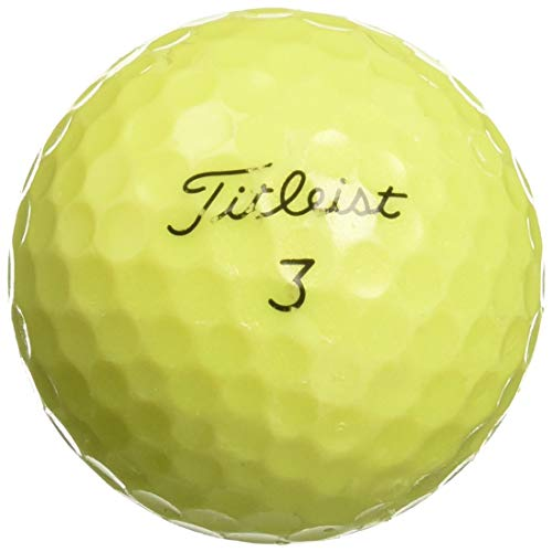 (Titleist Yellow Premium Golf Balls (50 Pack))