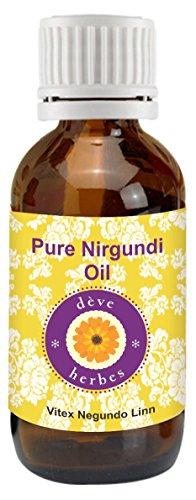 Deve Herbes Pure Nirgundi Oil (Vitex negundo linn)-630ML (21.30 oz)
