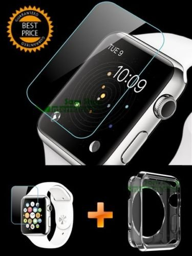 iRonSmith  Apple Watch Case 38 or 42mm,  Full Body Clear Sof