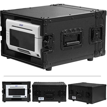 DNP DS620A Dye Sub Photo Printer with 4x6 Printer Media (800 Prints) and a Odyssey Black Printer Case Bundle by DNP (Image #2)