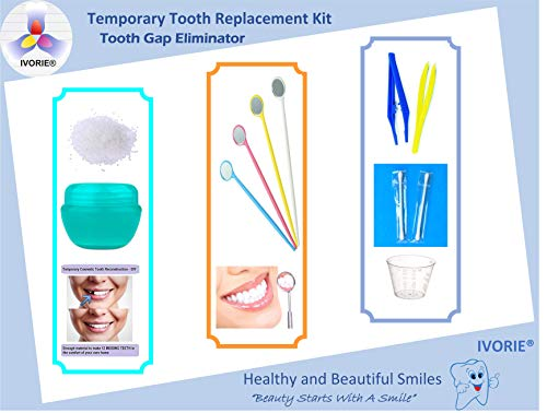 Temporary Tooth Replacement Repair Kit Replace Missing Diy