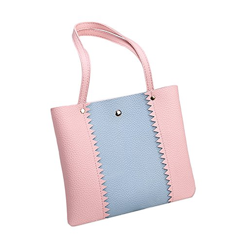 Bag Gift Bucket Crossbody Block Red Originaltree Shoulder Single Party Lady Color Pink az6qwO0