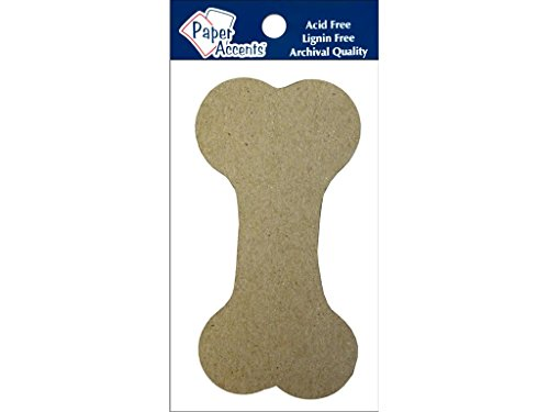 (Accent Design Paper Accents Chip Shape Dog Bone ChipShapeDogBone)