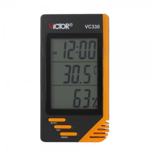 Bargz Electronics Tools and Accessories - VC330 LCD Digital Indoor and Outdoor Thermometer and Humidity Meter