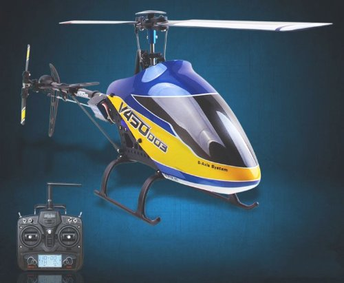 Walkera @V450D03 DEVO 7 RTF 6 Axis Gyro Flybarless 450 RC Helicopter