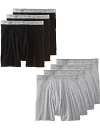 Men's Tag-Free Boxer Brief (Pack of 7)