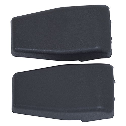Kentrol Liftgate Hinge Covers, Black Plastic - Pair