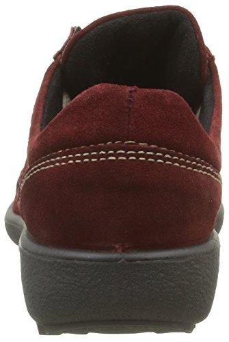 Romika Nadja 137 - Zapatillas para mujer Rojo (Carmin 411)