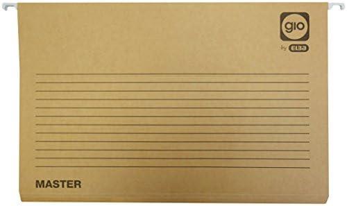 Elba 400047714 - Caja de 25 carpetas colgantes para cajón: Amazon.es: Oficina y papelería