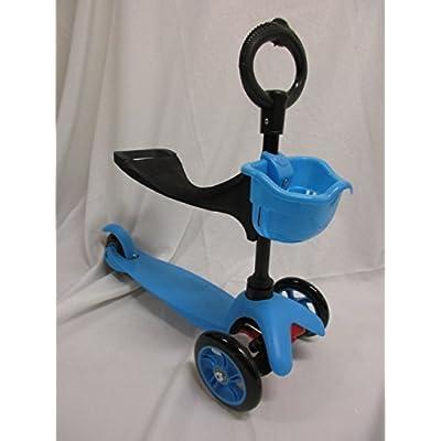 21st Scooter avec Seat (Bleu)