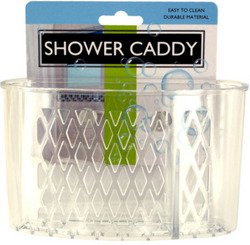 Transparent Shower Caddy with Suction Cups (Sold by 1 pack of 24 items) PROD-ID : 1942876