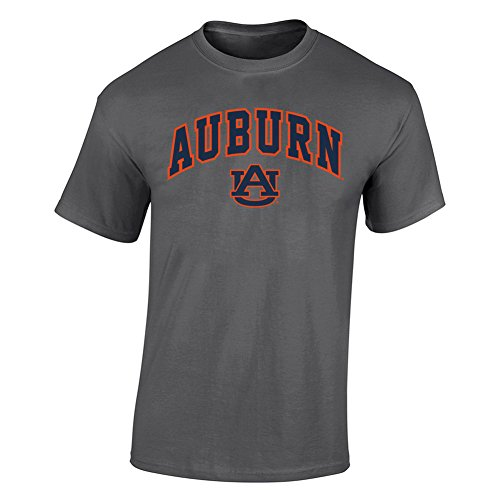 Elite Fan Shop Auburn Tigers Tshirt Arch Charcoal - ()